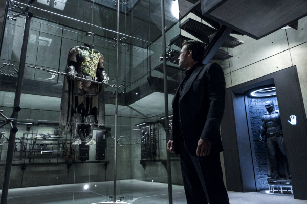 Ben Affleck Batman and Robin suit