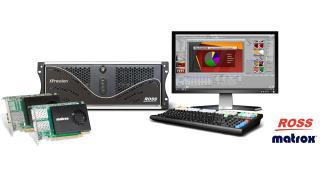 Ross Video Matrox XPression NIC cards