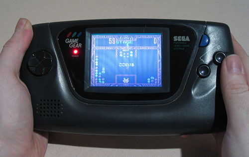 Game Gear screen