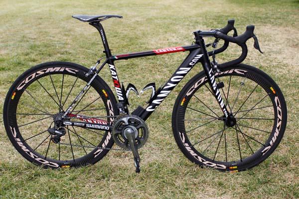 Katusha Canyon, 2012 WorldTour bikes