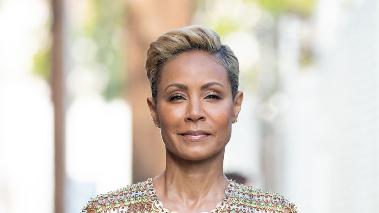 LOS ANGELES, CA - JUNE 05: Jada Pinkett Smith is seen at 'Jimmy Kimmel Live' on June 05, 2019 in Los Angeles, California. (Photo by RB/Bauer-Griffin/GC Images)