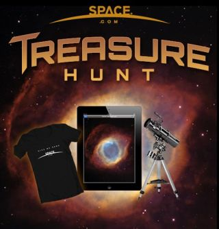 Enter SPACE.com's Treasure Hunt for a chance to win a telescope.
