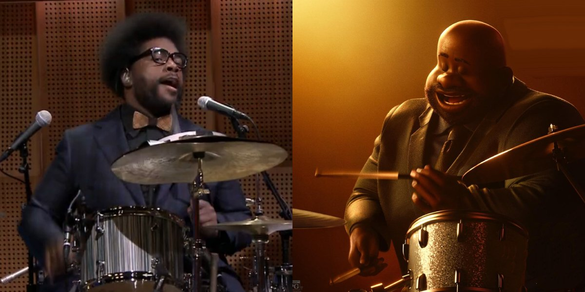 Questlove and Curly from Soul