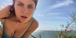 No Pants, No Problem: 3 Great Comments From Alexandra Daddario About Life In Quarantine