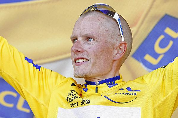 Michael Rasmussen Tour de France 2007 yellow jersey