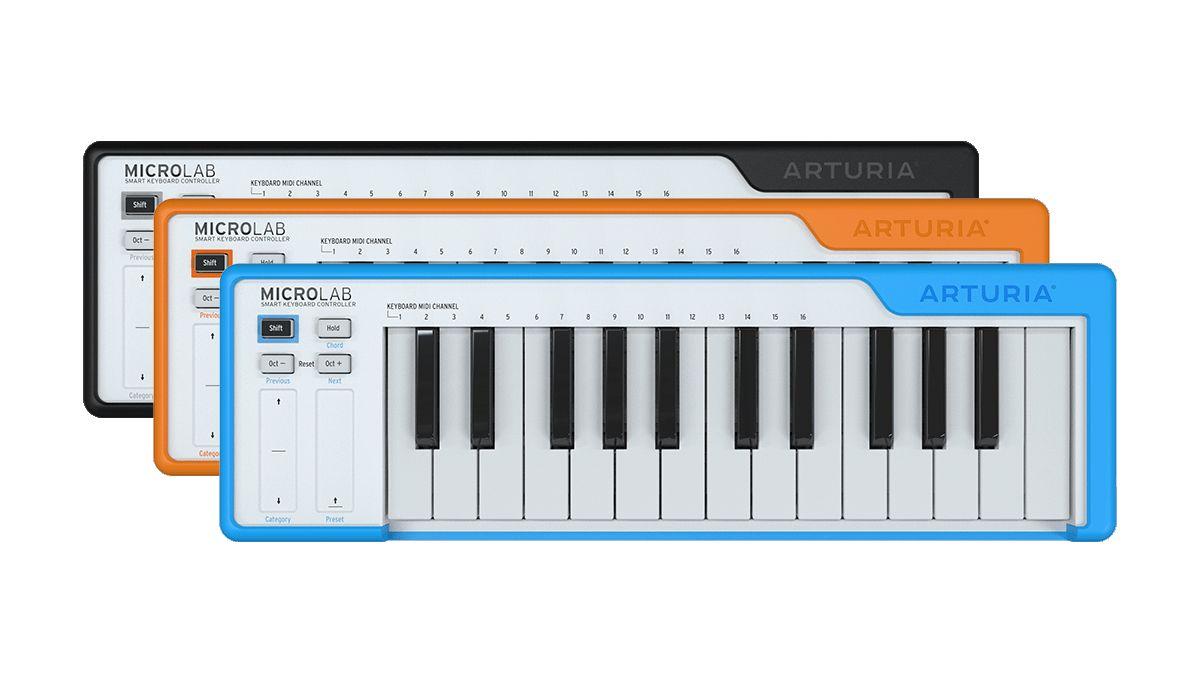 Could Arturia's MicroLab be the perfect portable MIDI