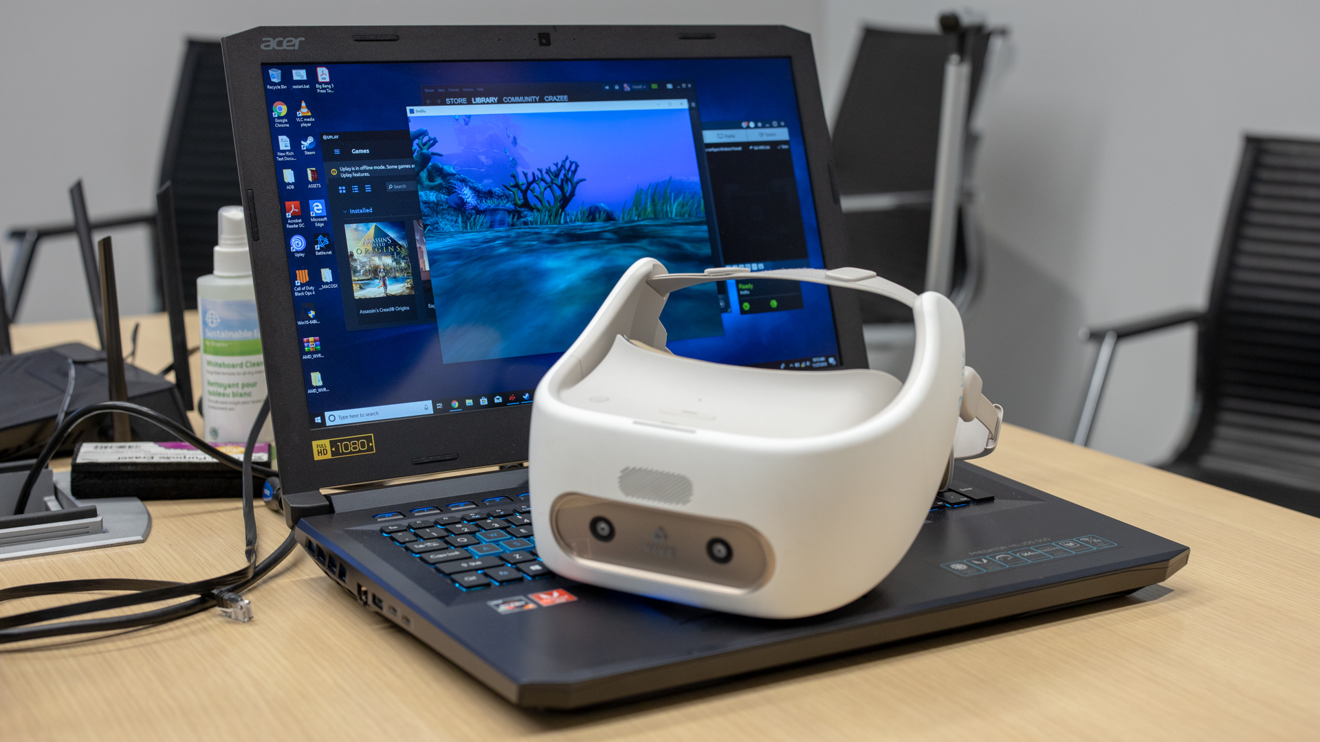AMD's latest graphics card software lets you stream VR games to your