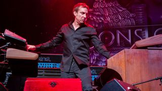 Derek Sherinian of Sons of Apollo performs at The Fillmore in San Francisco on January 26, 2020