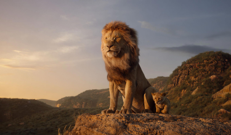 photorealism lion king