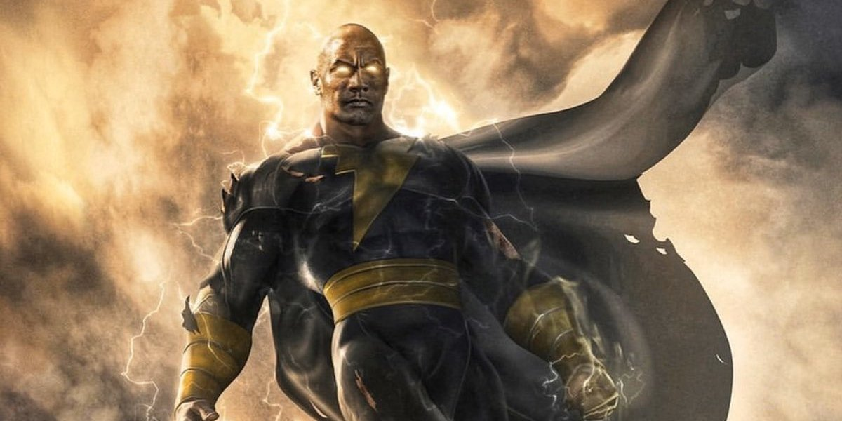 black adam dwayne Johnson jim lee concept art