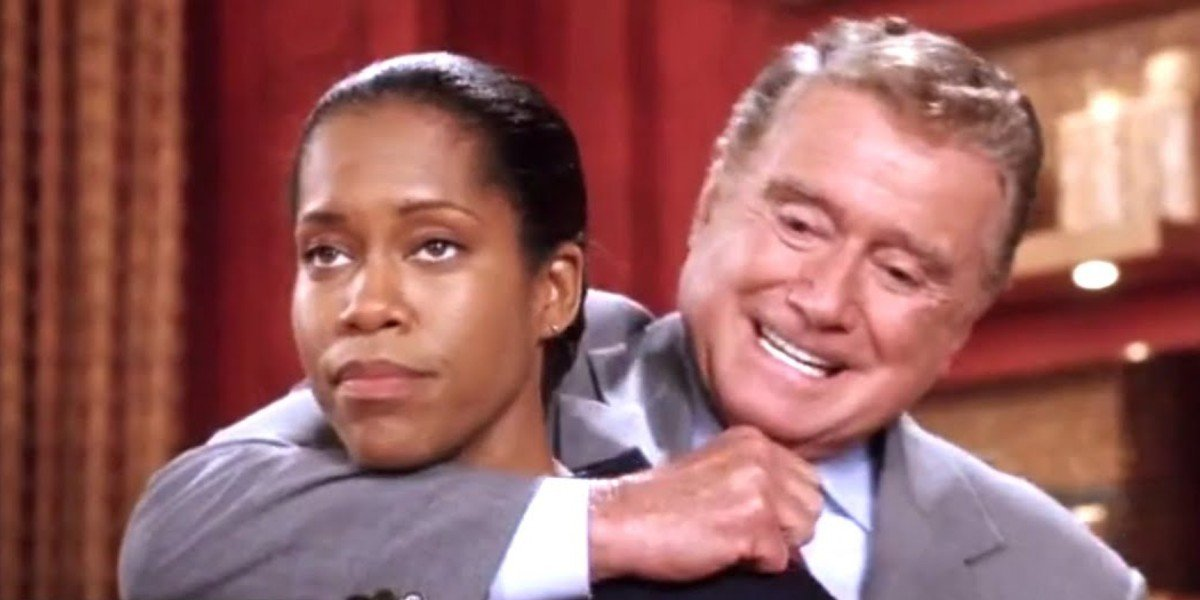 Regina King and Regis Philbin in Miss Congeniality 2: Armed and Fabulous