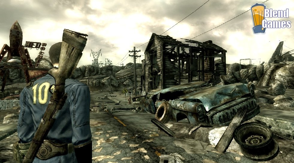 Fallout 3 And Borderlands Screenshot Comparison #4166