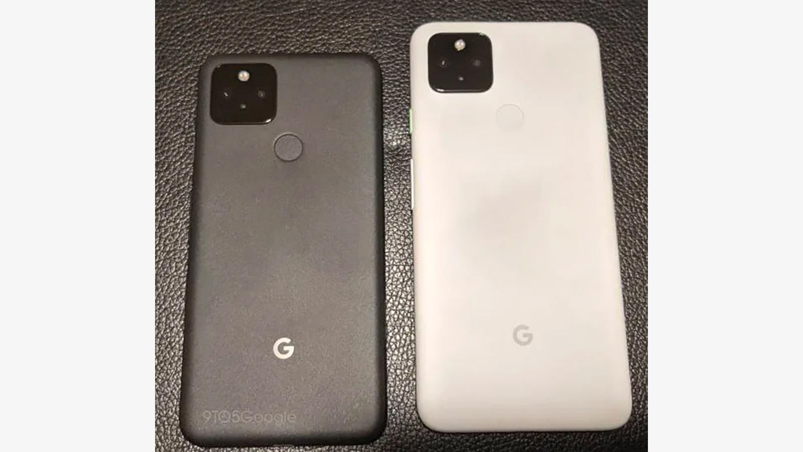 Google Pixel 5 leak Google Pixel 4a 5G leak