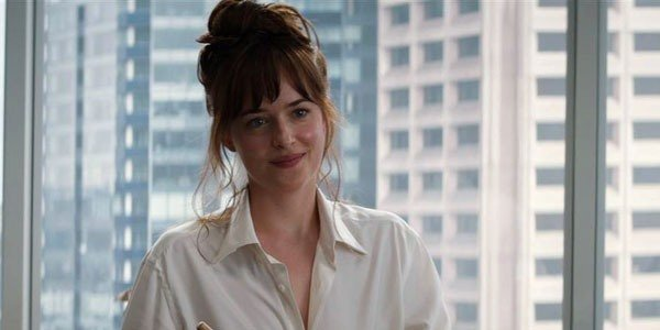 The Sticky Way Dakota Johnson's Modesty Thong Was Attached For Fifty Shades Freed