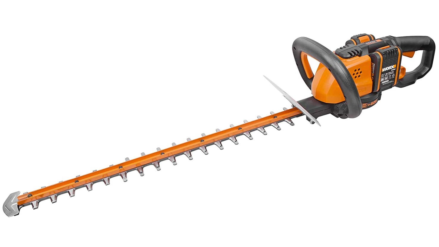 20V MAX Cordless 46cm Hedge Trimmer with 2 Batteries WORX WG261E.1 18V