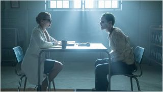 Jared Leto and Margot Robbie in Suicide Squad
