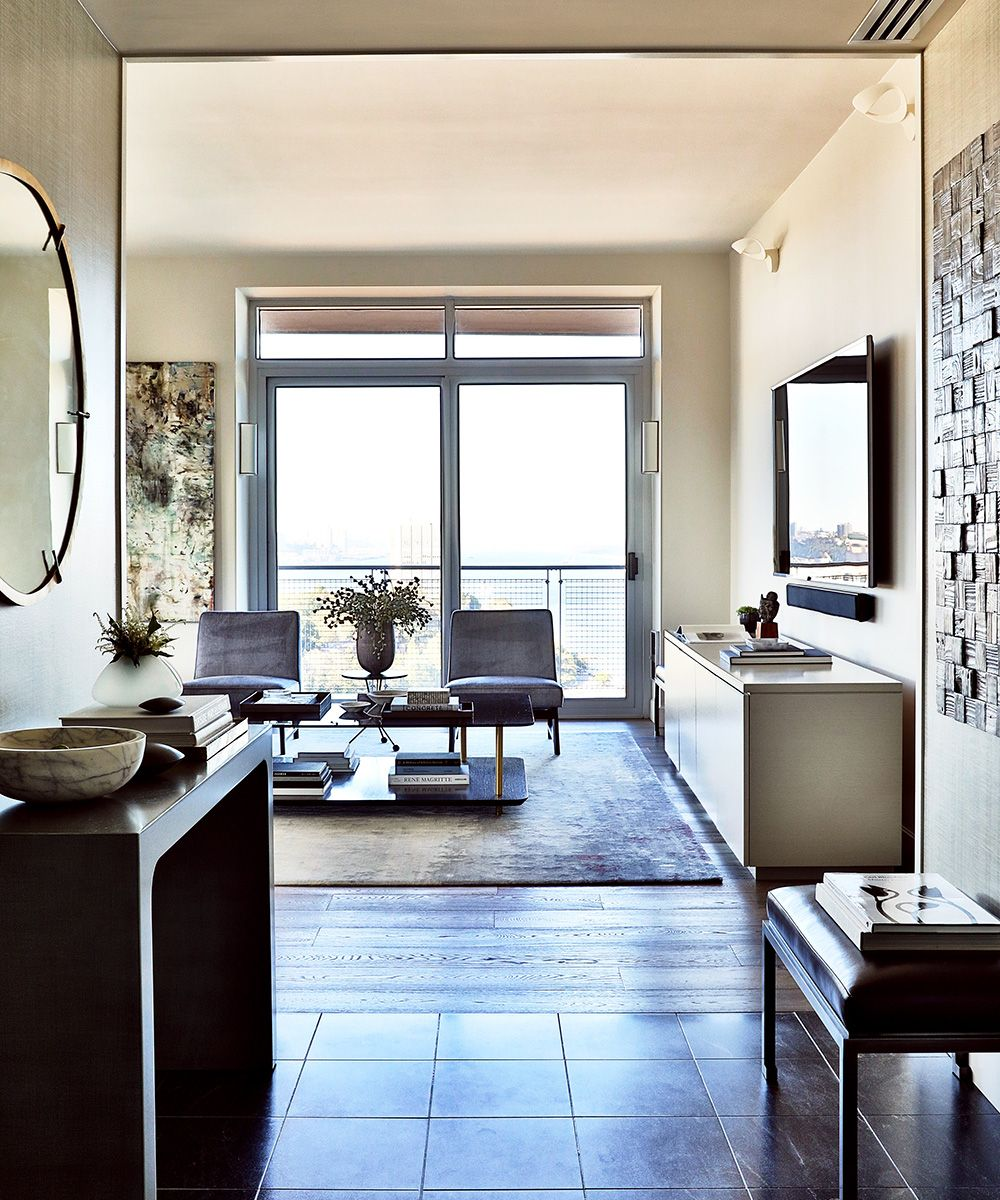 Take a turn around modern penthouse suite at the W Hotel, designed by J. Patryce Design