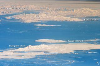 Antarctica International Space Station