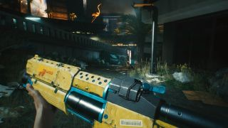 best Cyberpunk 2077 weapons guns
