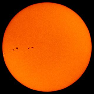 Sunspots Erupt Suddenly