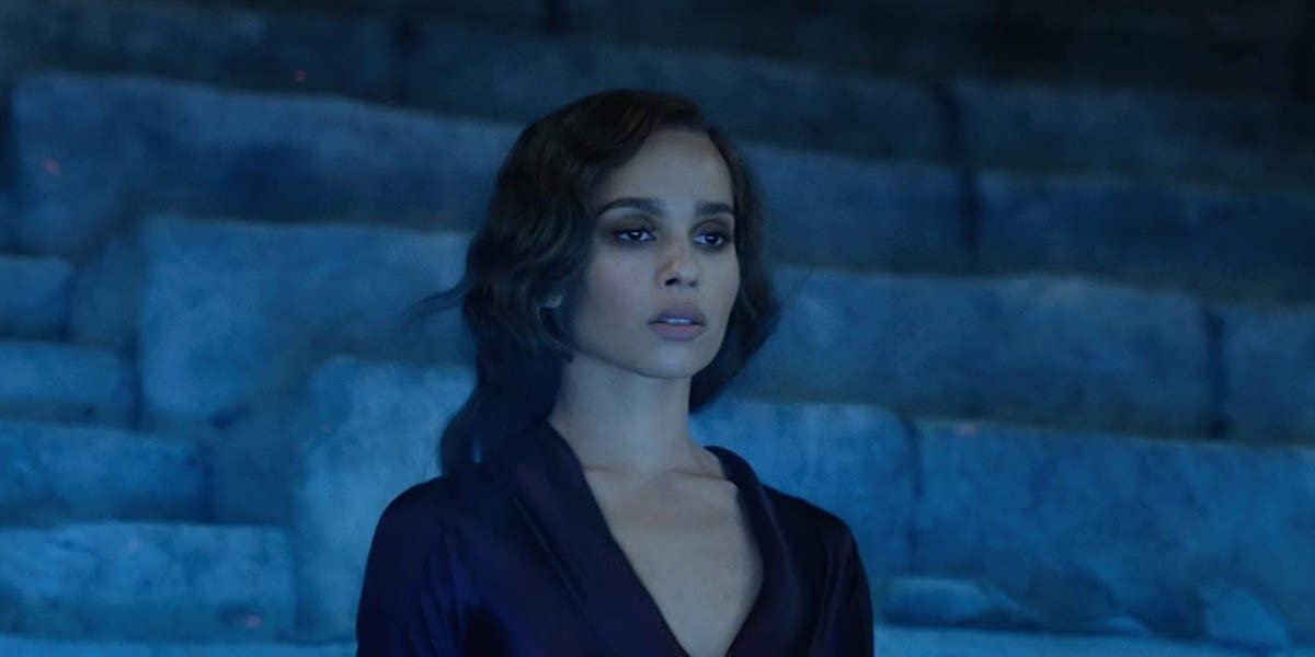 Zoe Kravitz in Fantastic Beasts: The Crimes of Grindelwald