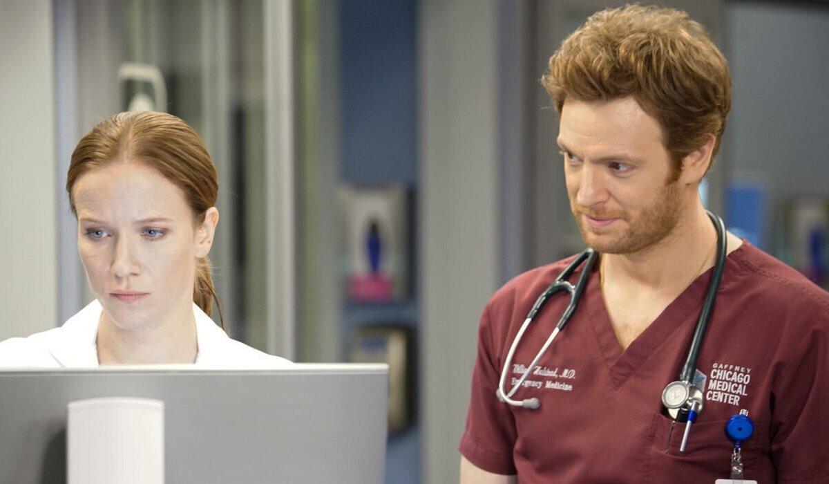 chicago med 100th episode season 5 hannah will halstead nbc