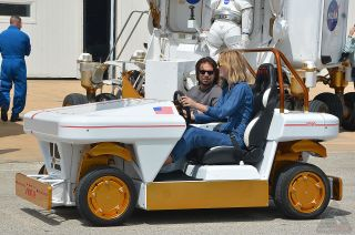 'The Martian' Actors Visit JSC