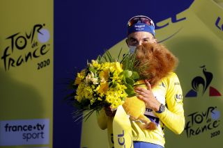 Tour de France 2020 107th Edition 2nd stage Nice Nice 186 km 30082020 Julian Alaphilippe FRA Deceuninck Quick Step photo POOL Jan De MeuleneirPNBettiniPhoto2020