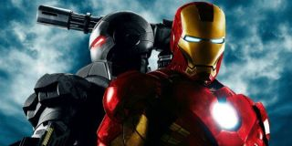 Iron Man and War Machine in promotional material for Iron Man 2