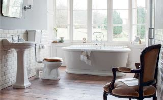 Edwardian Suite by Burlington from the Pure Bathroom Collection