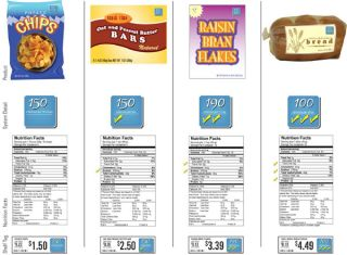 new nutrition labeling