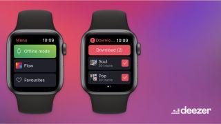 Deezer subscribers can now listen offline through the Apple Watch