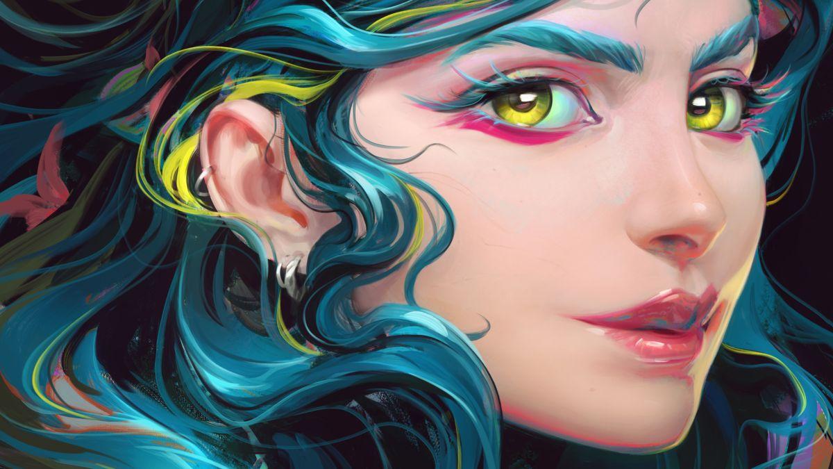 Paint with Photoshop – create a beautiful digital art portrait