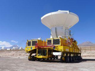 Final ALMA Antenna Delivered