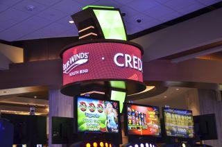 NanoLumens Nixel Series Lights the Way at Four Winds Casino