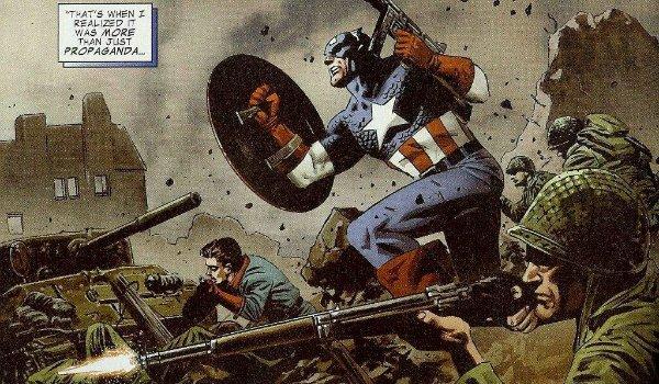 Captain America World War 2