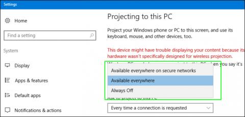 Các Bước Sử Dụng Screen Mirroring (Miracast) Trong Windows 10 - VERA STAR