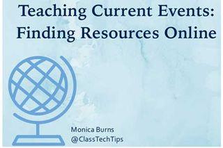 Class Tech Tips: 17 Websites for the Social Studies Classroom