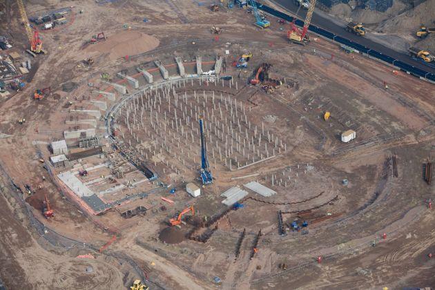 London Velodrome 2012 construction