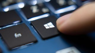 Windows 10 button