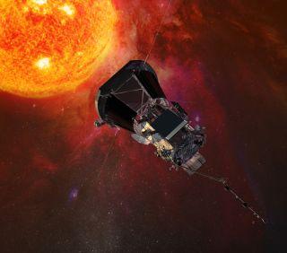 NASA's Parker Solar Probe art