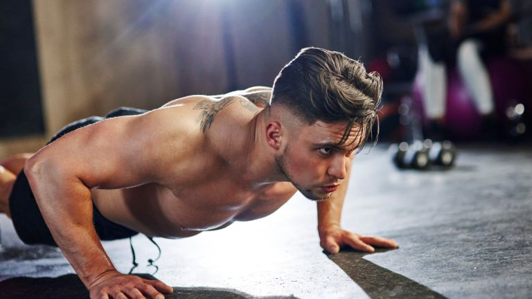 how to do a push up press up for beginners