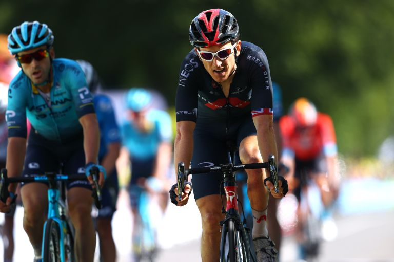 Geraint Thomas on stage two of the 2021 Tour de France