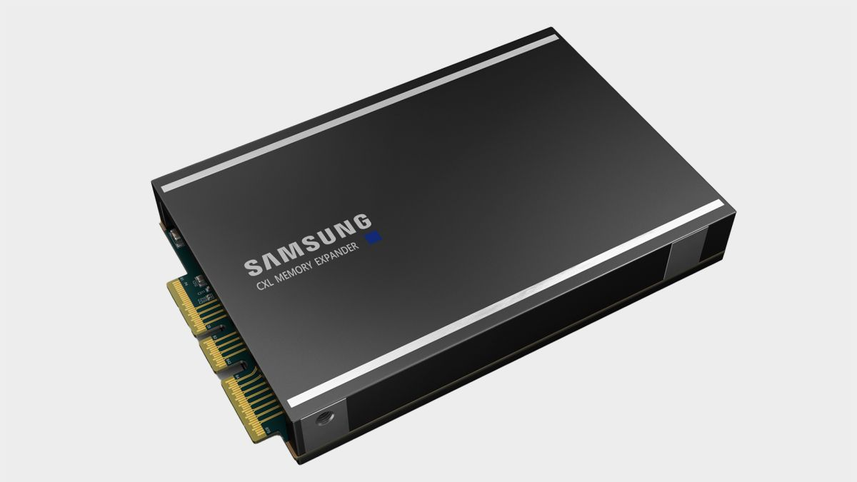 Samsung's new DDR5 and PCIe 5.0 expander delivers memory by the terabyte