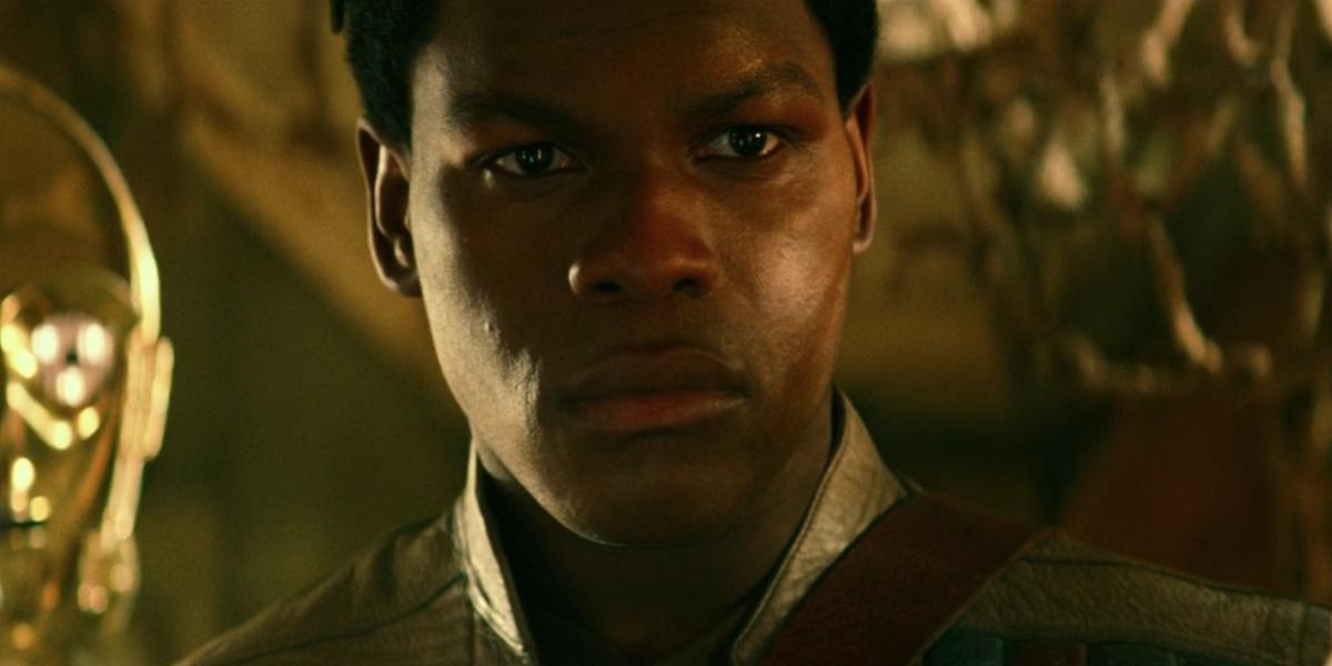 Boyega in The Rise of Skywalker