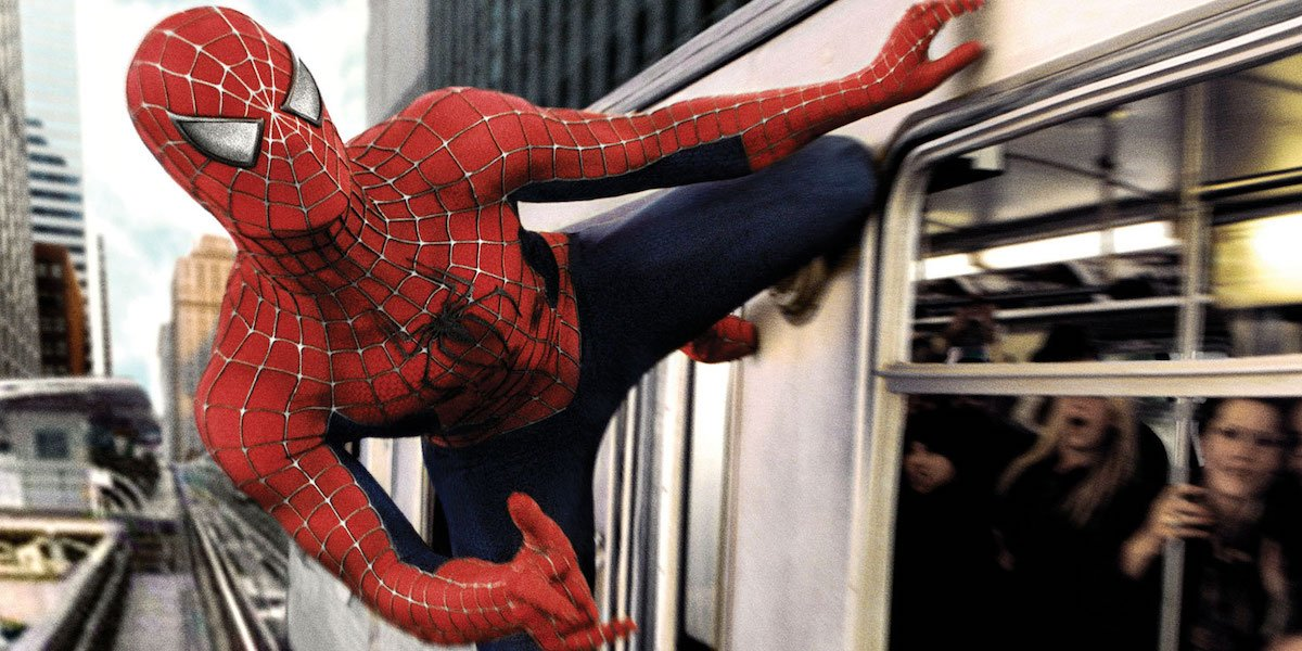 Tobey in Spidey 2