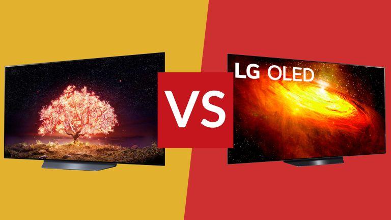 LG B1 vs LG BX cheap OLED TV