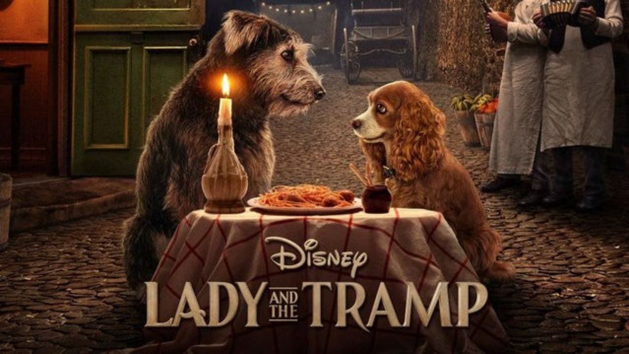Lady And The Tramp Live Action Remake Trailer Debuts At D23 2019 Watch It Now Gamesradar