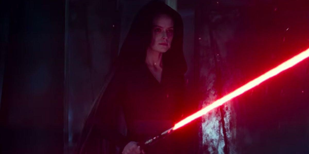 Dark Rey Gets Kylo Ren S Helmet In Star Wars The Rise Of Skywalker Concept Art Cinemablend