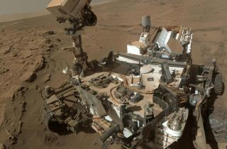 Methane on Mars Rover